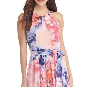 Jessica Howard Floral Print Maxi Dress